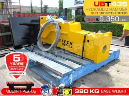 UBTECH UBT43S Silence Hydraulic Hammer Rock Concrete Breaker
