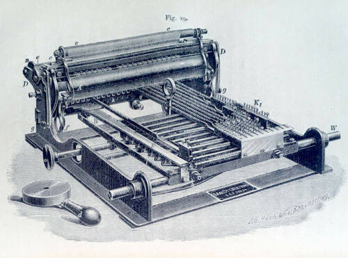 1905 Rarity SCIENCE BOOK French MECHANICAL CALCULATORS - CALCULATING MACHINES