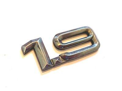 443853742 2ZZ Genuine Audi Rings Rear Boot Badge Emblem Chrome Nos