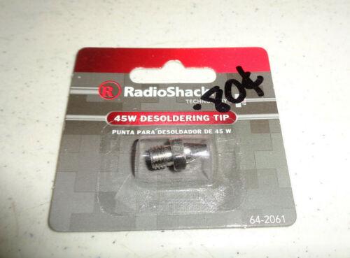 ~NOS Sealed Radio Shack Desoldering Tip 64-2061 for a 45-Watt Desoldering Iron~