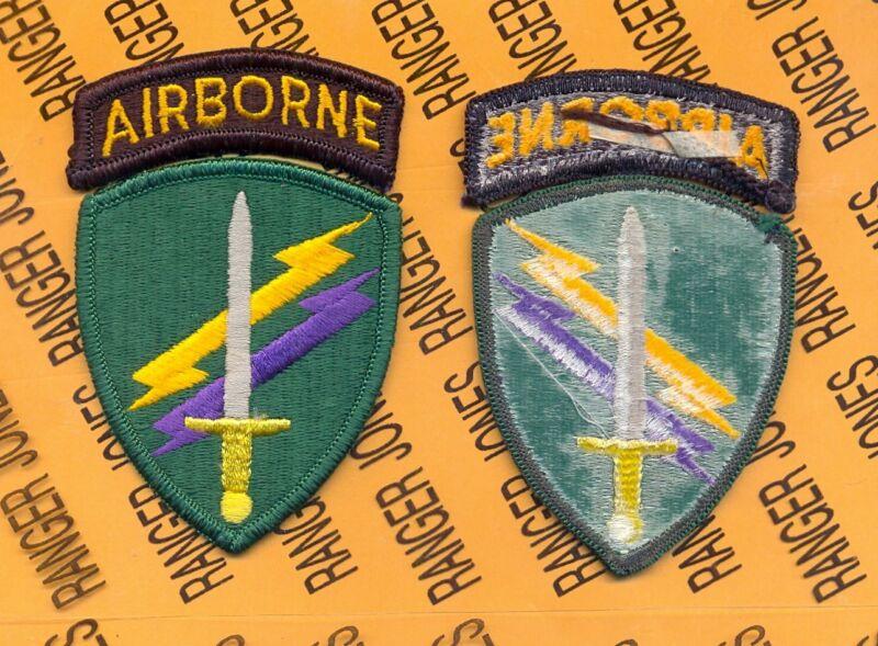USACAPOC Civil Affairs & Psychological Operations Command Airborne patch m/e