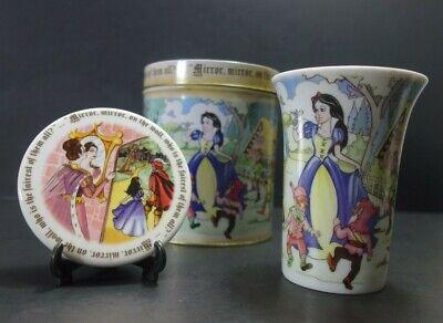 Paul Cardew Design Snow White 7 Dwarfs 150 Anniversary Mug and Coaster Tin Set