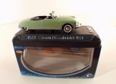 Solido S No. 4569 Citroen DS Cabriolet 1961 Box / Boxed 1/43