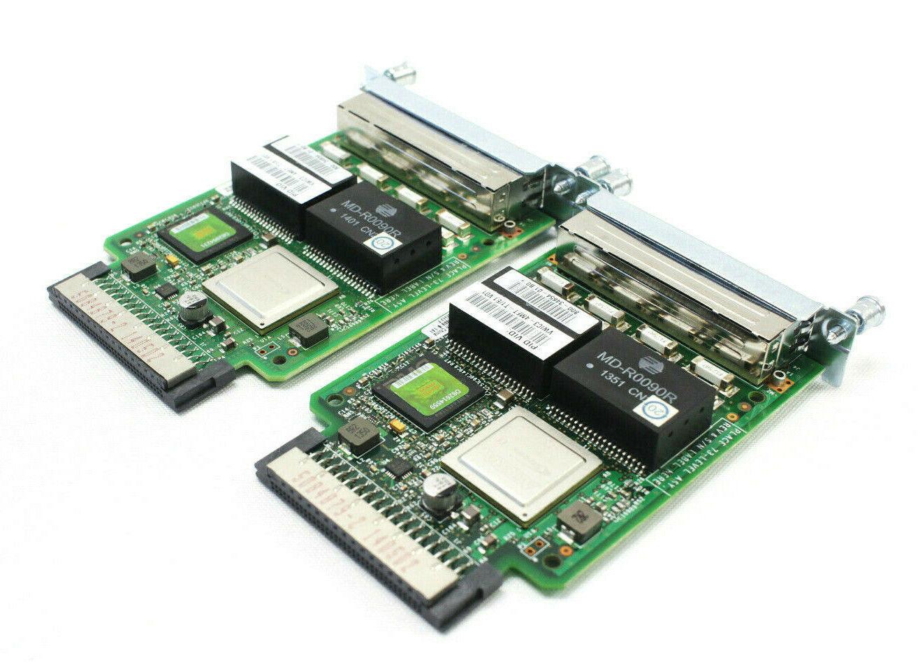 Cisco VWIC3-4MFT-T1//E1 4-Port T1//E1 Multiflex Trunk Voice//WAN 800-34654-01-CTC