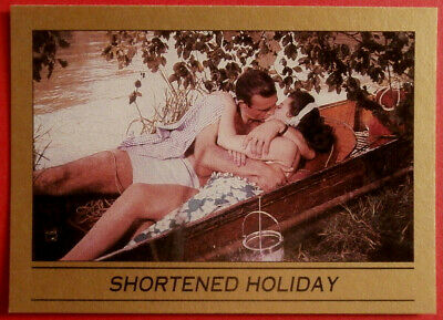 JAMES BOND - From Russia With Love - Card #028 - SHORTENED HOLIDAY - Eclipse