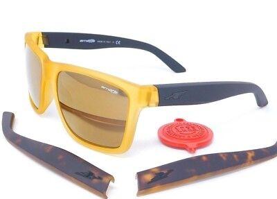 Arnette WITCH DOCTOR Sunglasses AN4177-04 2156/7D Gold,Blk,Havana/ Gold (Arnette Shades)