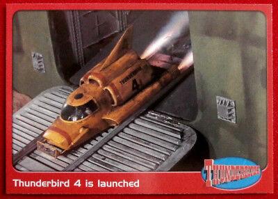 THUNDERBIRDS - Thunderbird 4 is Launched - Card #56 - Cards Inc 2001