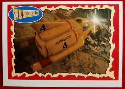 THUNDERBIRDS - Laser Work! - Card #38 - Topps, 1993 - Gerry Anderson