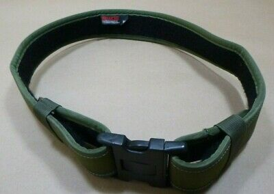 Bianchi 7200 Accumold Green Law Enforcement Nylon Duty Belt 34-40 Medium