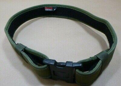 Bianchi 7200 Accumold Green Law Enforcement Nylon Duty Belt 34-40 Medium
