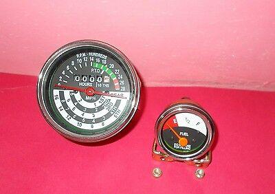John Deere Tractor Tachometer Fuel Gauge Set 1010 2010 Replacement