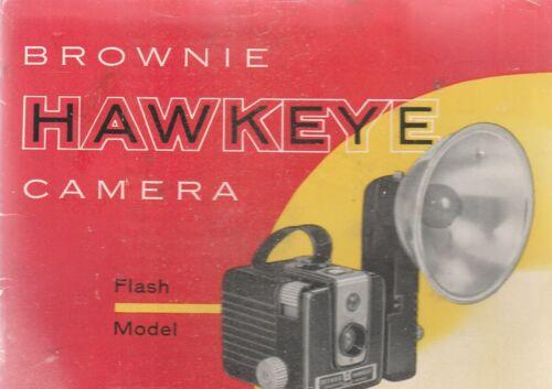 KODAK BROWNIE HAWKEYE CAMERA 1957 BROCHURE
