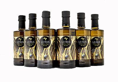 Aceite de oliva virgen extra, de olivos milenarios y centenarios. Seis botellas