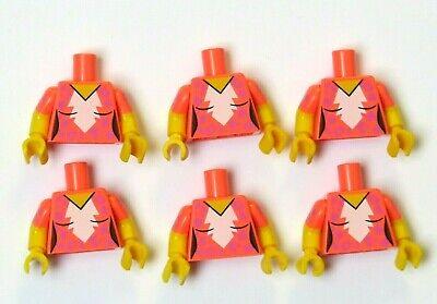 Lego 1 Minifigure Body Torso Brown Bodice Female Girl Warrior Soldier