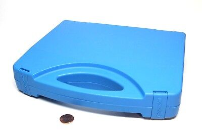 Playmobil Blue Carrying Case Toy Storage Container Box w/ Handle