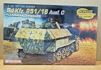 Dragon 6202 1:35 Scale Sd.Kfz. 251/16 Ausf. C Flammpanzerwagen Plastic Kit