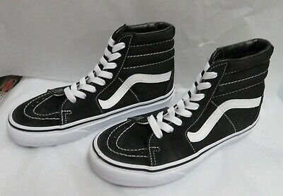new product 31d83 f795d Vans Sk8-Hi Lace Up High Top Shoe Suede Canvas Men s 4.0 Women s 5.5 NWOB