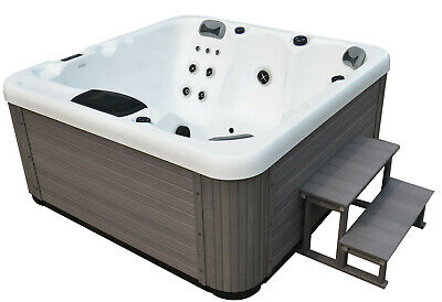 MIAMI SPAS OPAL LUXURY HOT TUB SPA WHIRLPOOL-5 Person-13 AMP-RRP £4999-BRAND NEW