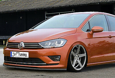 vw golf 7 frontspoiler frontsplitter. Black Bedroom Furniture Sets. Home Design Ideas