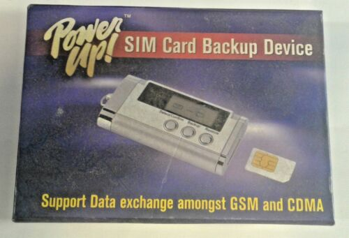 SIM Card Backup Device - Power Up P/N GEN-5002 USA FAST SHIPPING