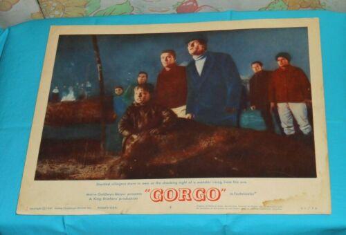 original GORGO lobby card #2
