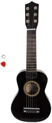 """Angelbee 21"""" Acoustic Guitar, Wood Classical Guitar with Strings, (21"""", Black)"""