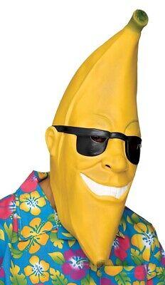 Herren Damen Gelb Cool Hawaii Banane Karneval Kostüm - Bananen Outfit