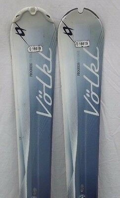 10-11 Volkl Oceana Used Women's Demo Skis w/Bindings Size 147cm #025263