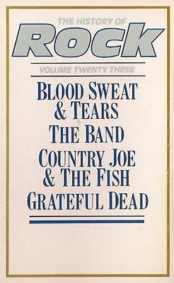 THE HISTORY OF ROCK vol 23<>THE BAND / GRATEFUL DEAD ~