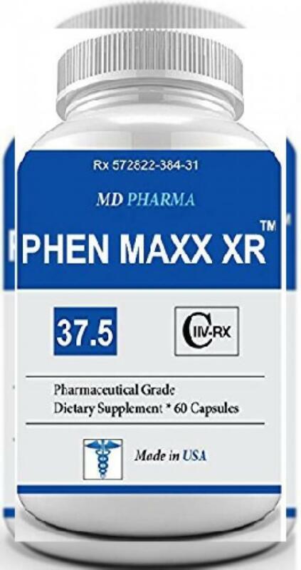 PHEN-MAXX XR 37.5 ® (Pharmaceutical Grade OTC - Over The Counter - Weight...