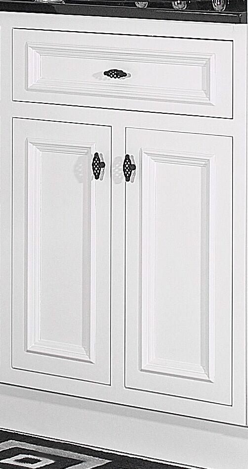 "JSI Danbury 36"" White 2 Door Bathroom Vanity Cabinet Base ..."