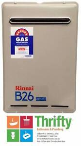 RINNAI B26 INSTANT CONTINUOUS FLOW GAS HOT WATER HEATER Granville Parramatta Area Preview