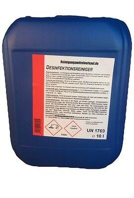 10 l Desinfektionsreiniger Reinigungsmittel Topprodukt