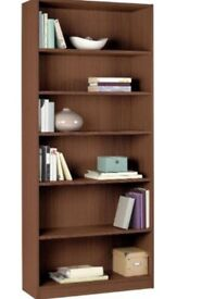 5 Shelf Wide Extra Deep Bookshelf