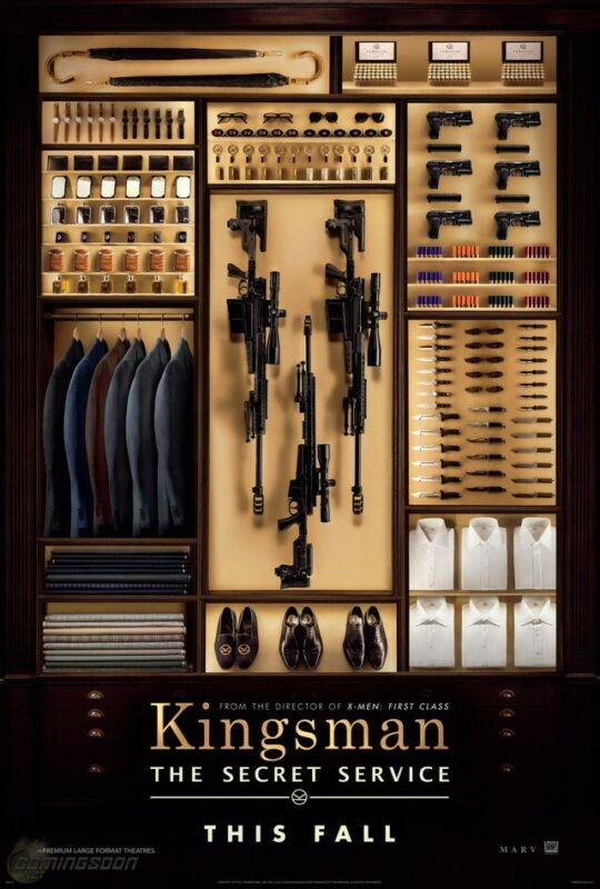 "☆Kingsman:The Secret Service☆ 48""x 72"" Movie Theatre/Lobby Promotional Poster☆"