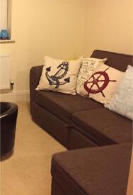 Left hand corner sofa bed