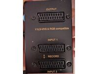 SV34 2 scart switch