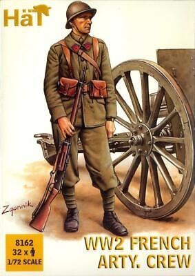 HaT Miniatures 1/72 WORLD WAR II FRENCH ARTILLERY CREW Figure Set