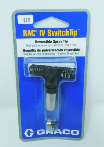 Graco 221415 Reversible Spray Tip, RAC IV, 415 SwitchTip
