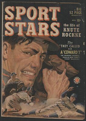 SPORT STARS #1, 1949, Marvel Comics