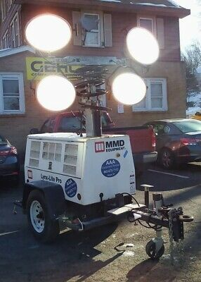 Light Tower Mmd Lite Lynx Pro 8000 With 8 Kw Generator