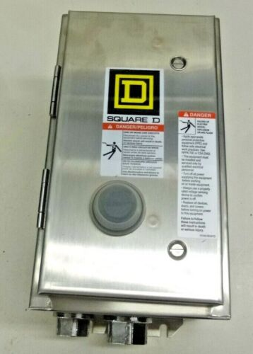 NEW!! SQUARE D, Magnetic Motor Starter, 8536SBW12V02S