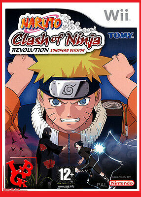 NARUTO Clash of Ninja Europeen Wii JEU Nintendo Jeux Video compatible Wiiu Wii-U