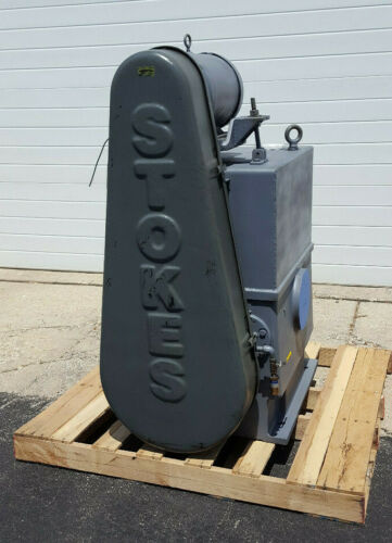 """Rebuilt Stokes Microvac 412H-11 Vacuum Pump, 4"""" Inlet, Free Shipping with BIN"""