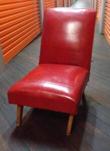 Vintage Red Chair Enmore Marrickville Area Preview