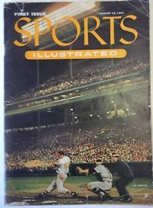 Sports Illustrated 1, August 16, 1954