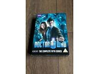 Doctor Who boxed set dvds