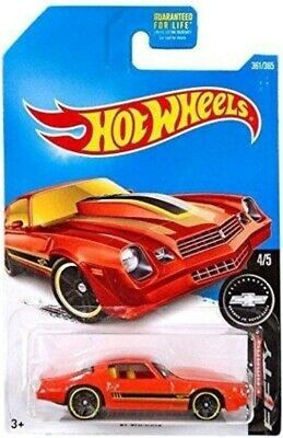 2017 Hot Wheels - Camaro Fifty - '81 Camaro - Orange - #4/5 - #361/365