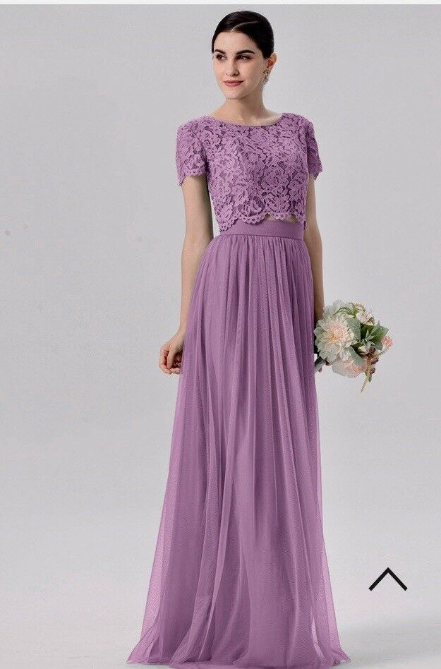 Lavender bridesmaid two piece.   in Stockton-on-Tees, County Durham ...