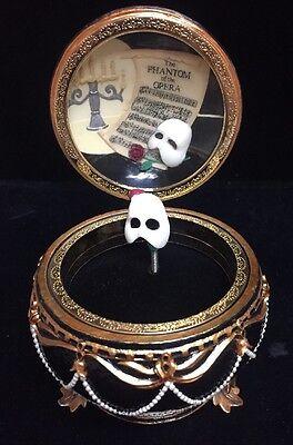 San Francisco music box company- The Phantom Of The Opera Year 1986 (X)